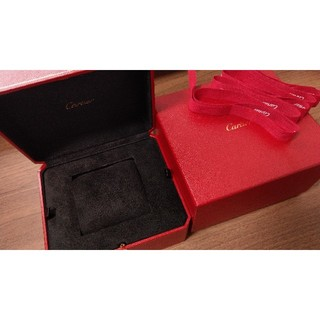 カルティエ(Cartier)のcartier 純正 時計ボックス 外箱つき(腕時計)