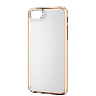 ELECOM - iPhone8 iPhone7 ケース カバー 4.7 ゴールド