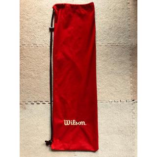 ウィルソン(wilson)のウィルソン wilson ラケット カバー(バドミントン)