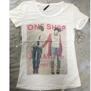 ジェーンマープル(JaneMarple)のH-J 1978☆ 古着風 アイボリーTシャツ(Tシャツ/カットソー(半袖/袖なし))