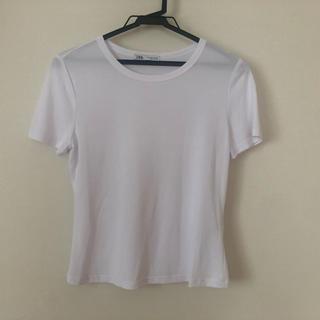 ザラ(ZARA)の白T(Tシャツ(半袖/袖なし))