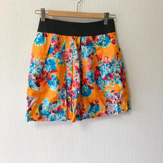 ザラ(ZARA)のZARA basic Sスカート ほば未使用(ひざ丈スカート)