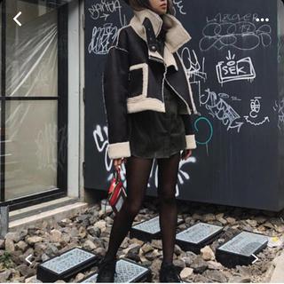 ALEXIA STAM - Juemi short mouton jacket