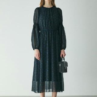 moussy - MOUSSY  NEW   SHEER FLOWER ドレス