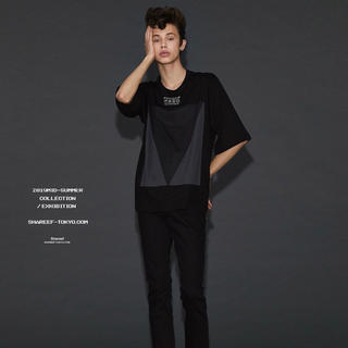 SHAREEF - SHAREEF 19SS Ly/C S/S BIG-T 'TRIANGLE'