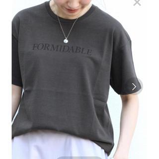 IENA - イエナ  IENA FORMIDABLE ロゴプリントTシャツ