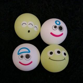 トイストーリー(トイ・ストーリー)の卓球ボールピンポン玉トイストーリー 4個(キャラクターグッズ)