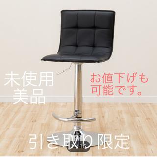 ニトリ(ニトリ)のニトリ カウンターチェア(フィットQSD-230 BK)(その他)