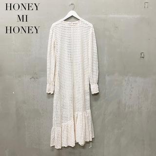 ハニーミーハニー(Honey mi Honey)の【HONEY MI HONEY】ロングワンピース ハニーミーハニー (ロングワンピース/マキシワンピース)