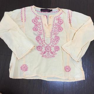 ユナイテッドアローズ(UNITED ARROWS)のユナイテッドアローズ 4y 刺繍 トップス(Tシャツ/カットソー)