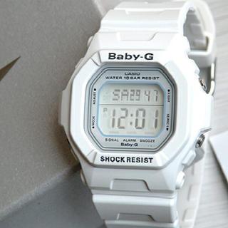 Baby-G - CASIO ベビーG ホワイト 腕時計 bg-5600 Baby-G