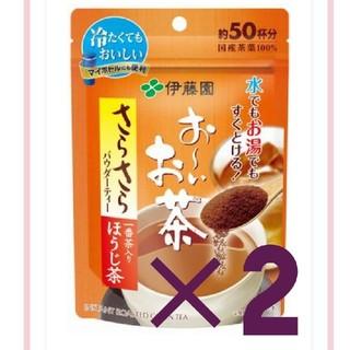 イトウエン(伊藤園)のお~いお茶 さらさらほうじ茶 40g(茶)