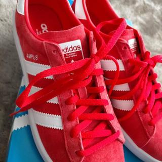 adidas - ★アディダス adidas スニーカー 赤★ ★25cm
