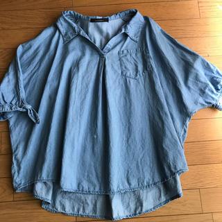 ページボーイ(PAGEBOY)のビックシャツ 訳あり(シャツ/ブラウス(長袖/七分))