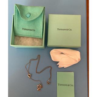 ティファニー(Tiffany & Co.)のTiffany&Coオープンハートネックレス(ネックレス)