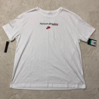 ナイキ(NIKE)のNIKE レディース オーバーサイズTシャツ☆未使用品(Tシャツ(半袖/袖なし))