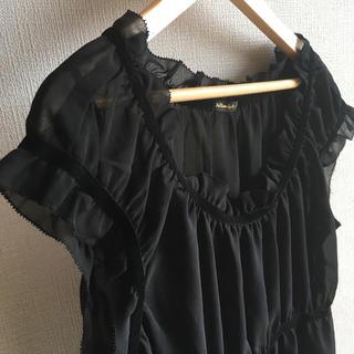 ドゥファミリー(DO!FAMILY)のドゥファミリー  半袖  ブラウス  ブラック(シャツ/ブラウス(半袖/袖なし))
