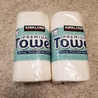 コストコ(コストコ)のペーパータオル Towel  2ロール(収納/キッチン雑貨)
