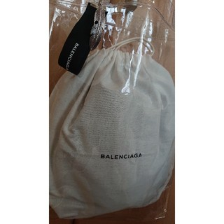 バレンシアガ(Balenciaga)の一点限り!BALENCIAGA保存袋とクリアバッグセット(ショップ袋)