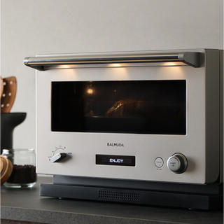 BALMUDA - 新品未使用 balmuda  オーブンレンジ ステンレス シルバー