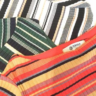 ナノユニバース(nano・universe)のナノユニバース リブT(Tシャツ(半袖/袖なし))
