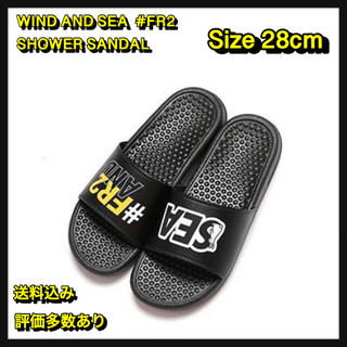 シー(SEA)の【28】WIND AND SEA  #FR2 SHOWER SANDAL(サンダル)