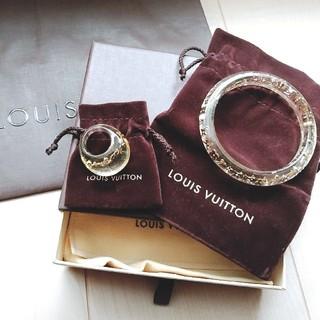 ルイヴィトン(LOUIS VUITTON)のルイヴィトン ブレスレット&リング クリアゴールド(リング(指輪))