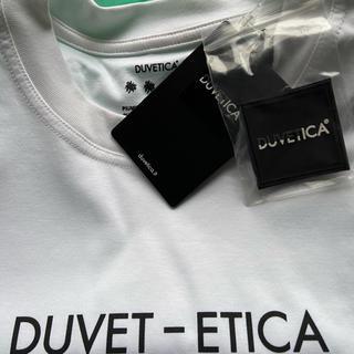 デュベティカ(DUVETICA)の希少19ssDUVETICA GIUDECCAquattro Tee(Tシャツ(半袖/袖なし))