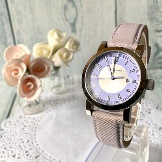 バーバリー(BURBERRY)の【希少】BURBERRY バーバリー BU7110 腕時計 パープル レディース(腕時計)