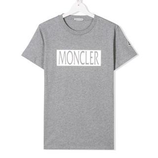 モンクレール(MONCLER)の【新品】MONCLER モンクレール シルバー ロゴ Tシャツ 14Y(Tシャツ(半袖/袖なし))