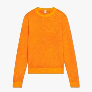 ベルルッティ(Berluti)の新品ベルルッティ ジャカード スクリット カシミア セーター(ニット/セーター)