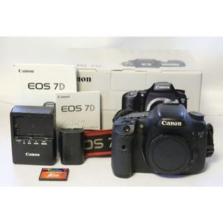 Canon - 【動作良好】Canon EOS 7D ボディ【元箱あり・CFカード付】 キャノン
