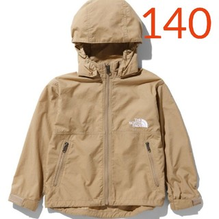 THE NORTH FACE - ☆新品☆ノースフェイス コンパクトジャケット 140サイズ キッズ ケルプタン