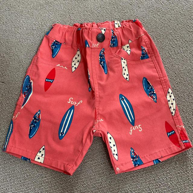 BREEZE(ブリーズ)のbreeze ハーフパンツ 半ズボン 80 キッズ/ベビー/マタニティのベビー服(~85cm)(パンツ)の商品写真