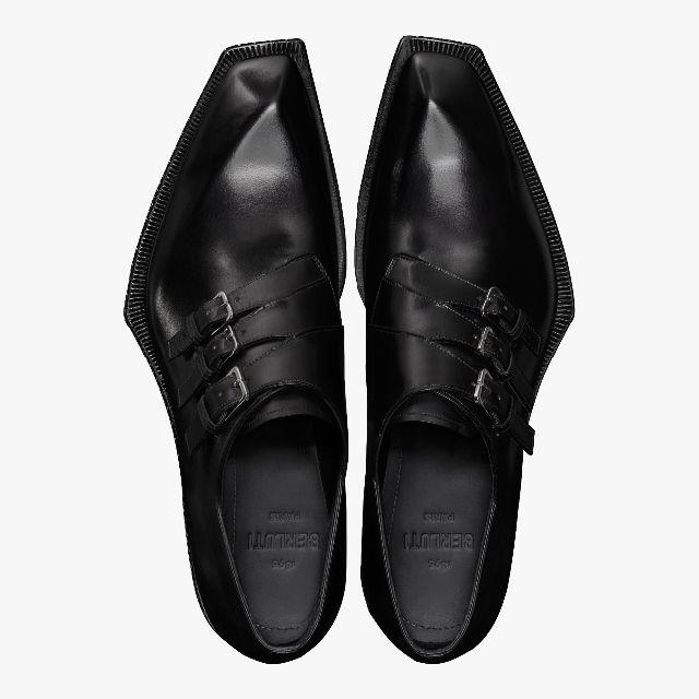 Berluti(ベルルッティ)の新品ベルルッティ キャラクター エッジ レザー モンク シューズ メンズの靴/シューズ(その他)の商品写真