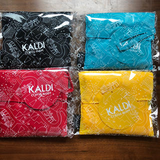 カルディ(KALDI)の【KALDI】人気☆エコバッグ★4色☆(エコバッグ)