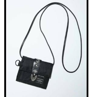 トーガ(TOGA)のtoga×poter ショルダーウォレット ブラック(折り財布)