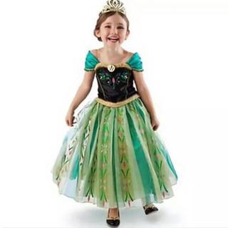 Disney - アナ ドレス プリンセスドレス アナ雪 衣装 コスプレ