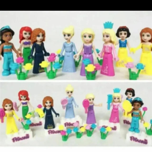 Lego(レゴ)のディズニー プリンセス レゴ互換品 レゴ LEGO キッズ/ベビー/マタニティのおもちゃ(知育玩具)の商品写真