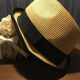 エニィスィス(anySiS)の《再‼︎値下げ》帽子(麦わら帽子/ストローハット)