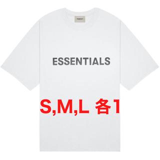 フィアオブゴッド(FEAR OF GOD)の本日限定価格 FOG Fear Of God Essentials Tシャツ 白(Tシャツ/カットソー(半袖/袖なし))