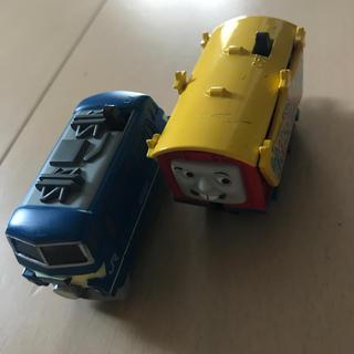 バンダイ(BANDAI)のきりん様 列車2台(電車のおもちゃ/車)