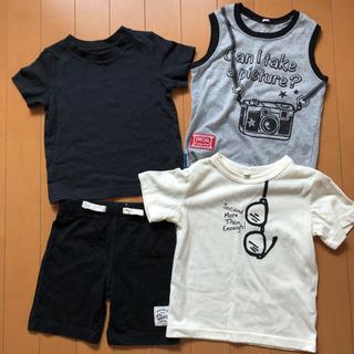 ニシマツヤ(西松屋)のTシャツ短パンセット 夏服 90センチ(Tシャツ/カットソー)