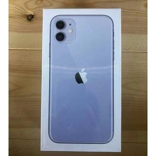 iPhone - 【新品未開封】iPhone 11 パープル128GB SIM フリー
