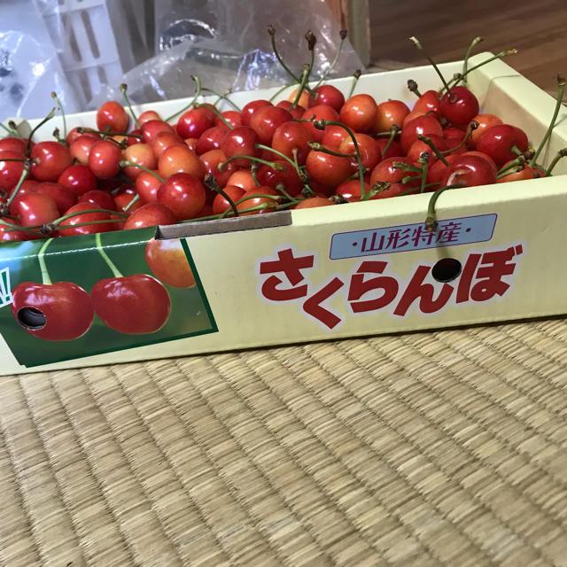 さくらんぼナポレオン1キロ 食品/飲料/酒の食品(フルーツ)の商品写真