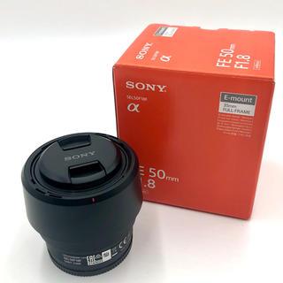 SONY - SONY Eマウント フルサイズ 50mm f1.8 SEL50F18F