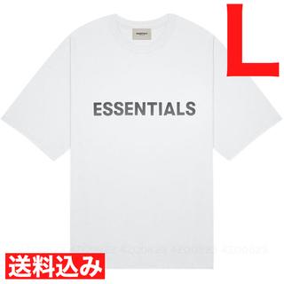 フィアオブゴッド(FEAR OF GOD)の本日限定価格 FOG Fear Of God Essentials Tee 白L(Tシャツ/カットソー(半袖/袖なし))