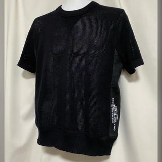 ディーゼル(DIESEL)のDIESEL ディーゼル メッシュTシャツ XS ブラック 黒(Tシャツ/カットソー(半袖/袖なし))