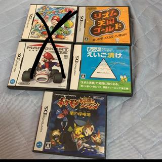 DS 箱セット マリオカート リズム天国ゴールド もっと英語漬け ヨッシーアイラ(携帯用ゲームソフト)