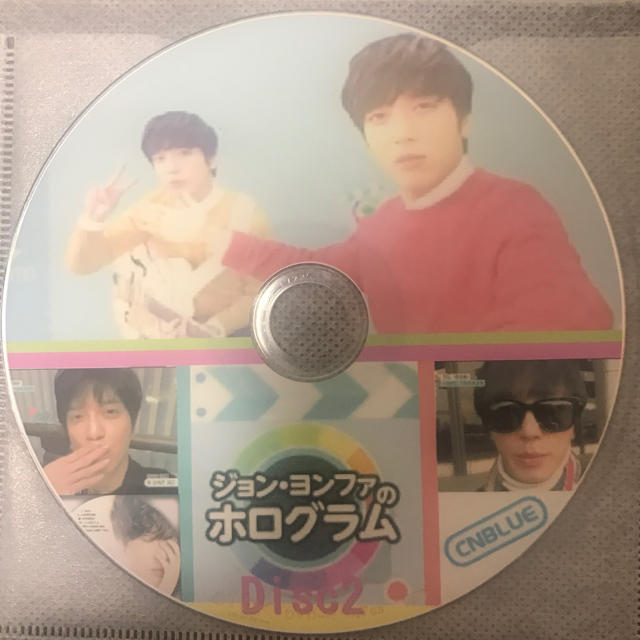 CNBLUE ヨンファ ホログラム ある素敵な日 PV&TV  DVD エンタメ/ホビーのDVD/ブルーレイ(その他)の商品写真